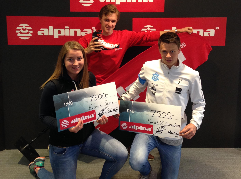 SKIsport-trener deler ut stipend