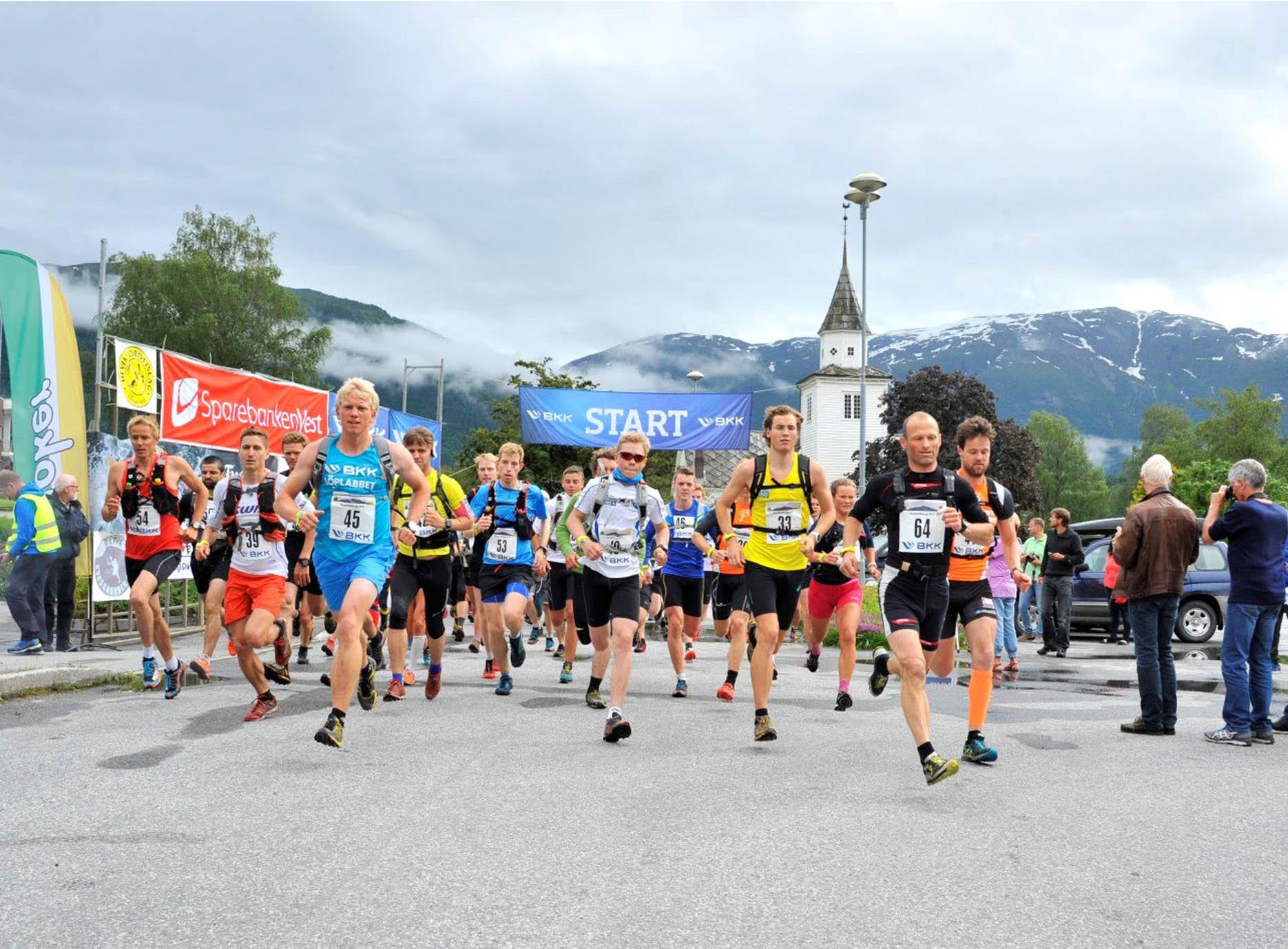Konkurrer deg sterk i motbakkeløp