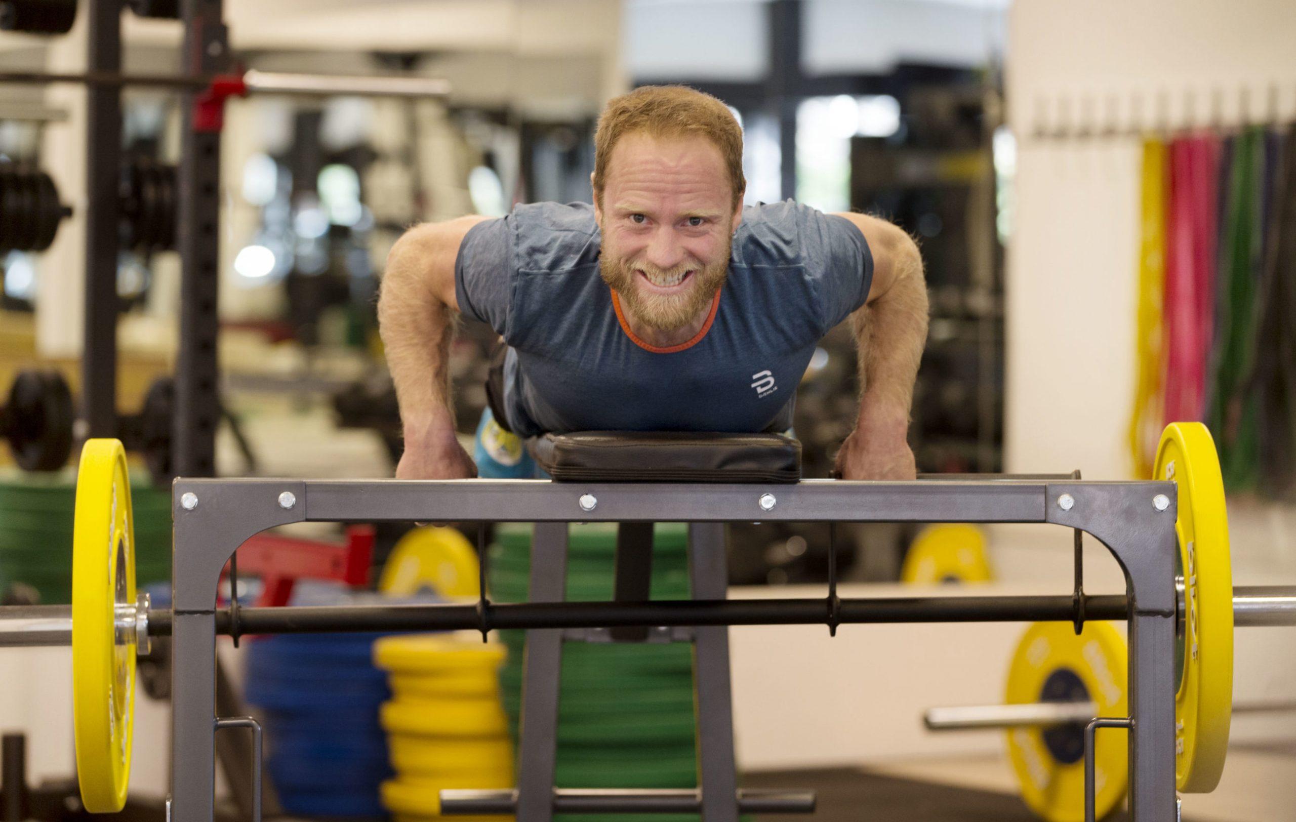 Johnsrud Sundby elsker styrketrening