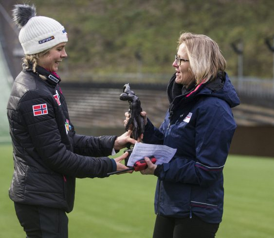 Olympisk pris til Maren Lundby