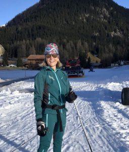 Vi tester langrenn i Davos-og blir guidet av en tidligere olympisk skiløper