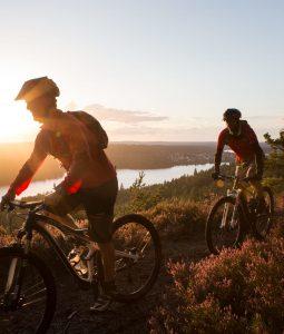 Start sykkelsesongen i Dalsland, Sverige