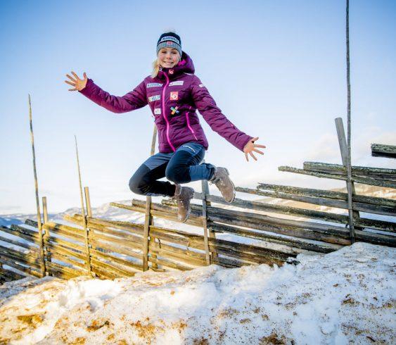 Maren Lundby jakter på storformen