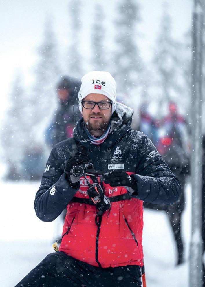 EN GLEDE: – Det har vært en glede å følge de mange gode norske prestasjonene og ålreite trenerne og utøverne vi har, sier utviklingssjef Harri Luchsinger. Foto: Sondre Hensema Eriksen/Norges Skiskytterforbund