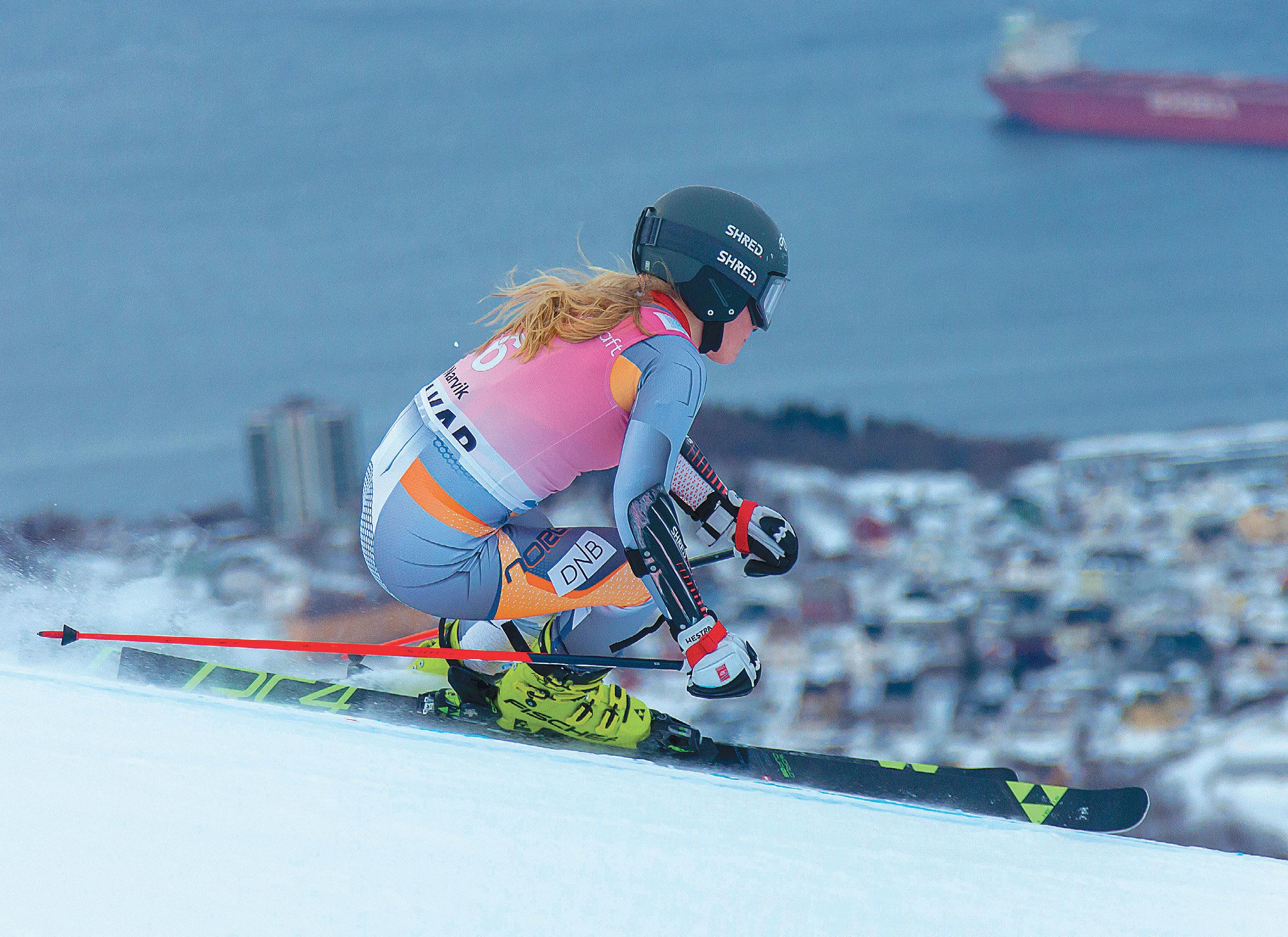 Bronse: Kaja Norbye kjørte inn til bronse i junior-VM. Foto: Jan-Arne Pettersen/Narvik 2020.