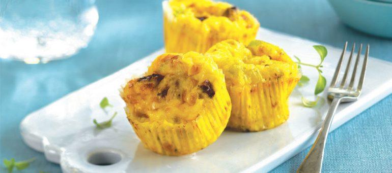 Sunne og enkle muffins