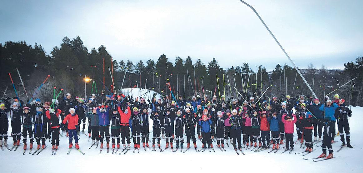 Fantastisk jenterekruttering i Runar Ski