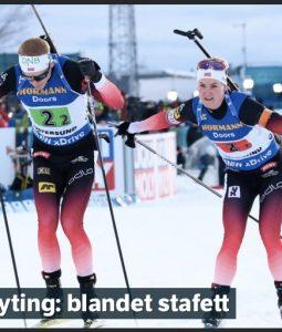 Skiskyting: Vant med over ett minutt!
