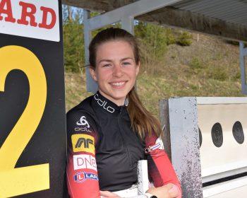 Ny podcast: Ida Lien fikk egen skiskytterbane i hagen!