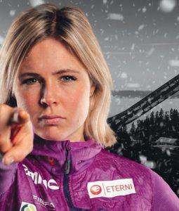 Maren klar for skiflyging – uansett hvor